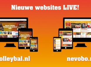 Nieuw nevobo.nl en volleybal.nl