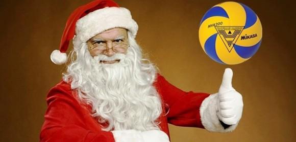 Afbeeldingsresultaat voor fijne feestdagen volleybal