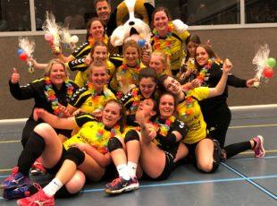 2019-04-13 Dames 1 kampioen