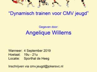 Clinic voor CMV trainers op 4 september